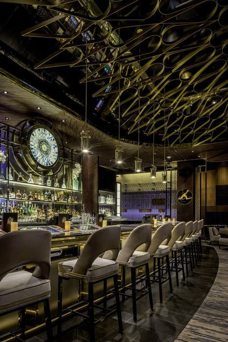 Alibi Restaurant And Tail Lounge At Aria Resort In Las Vegas Designed By Munge Leung