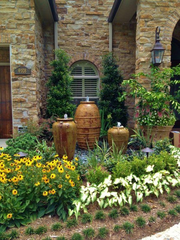Fontaine Design Jardin une fontaine de jardin design - quelques idées en photos fascinantes