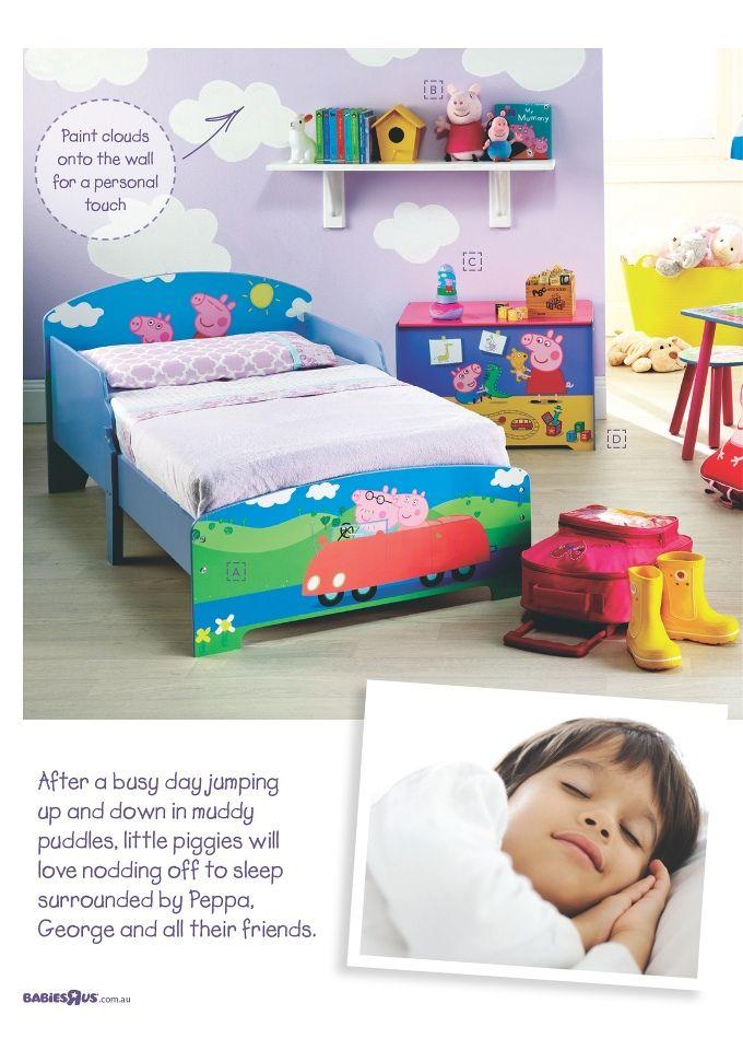 Peppa Pig Themed Bedroom