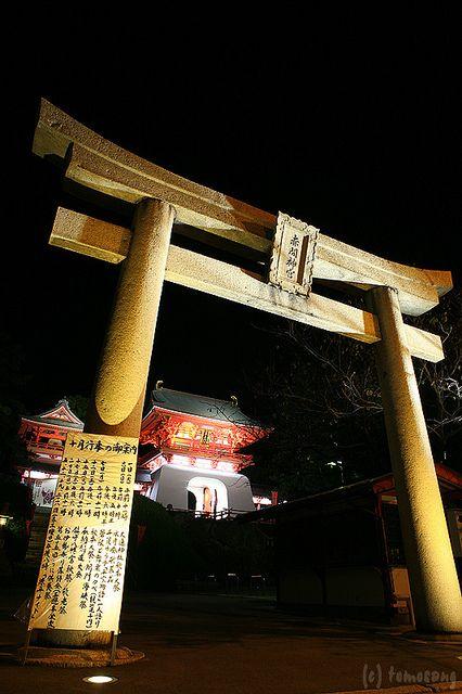 Akama Shrine Amidaiji Cho Shimonoseki City Yamaguchi Japan