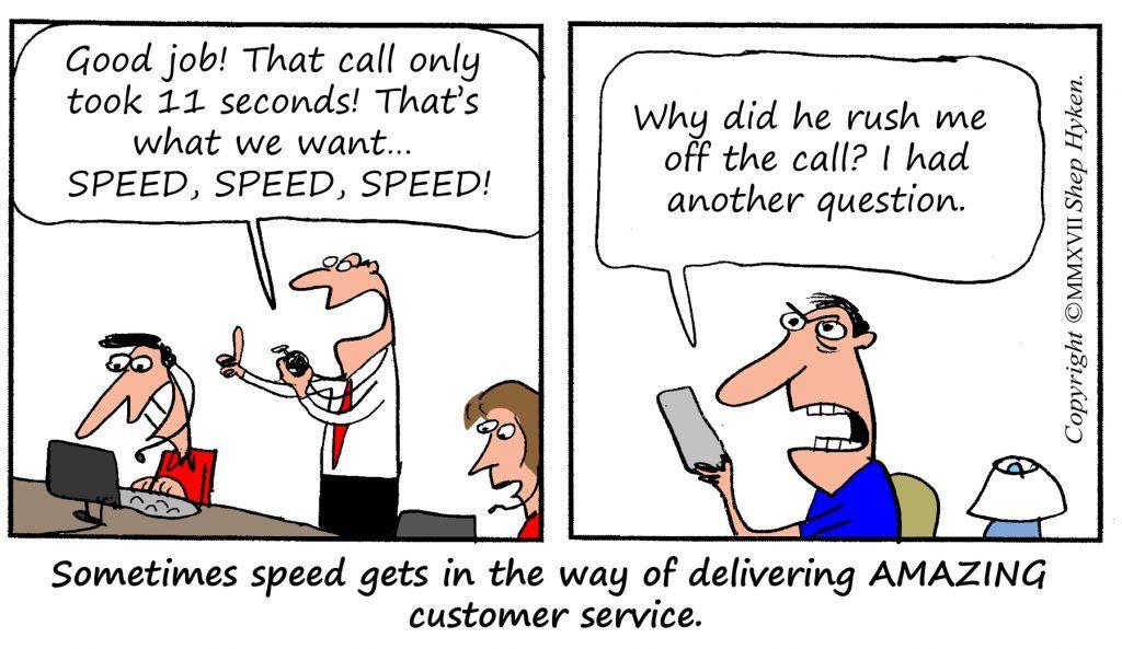 When Customer Service Creates Customer Validation
