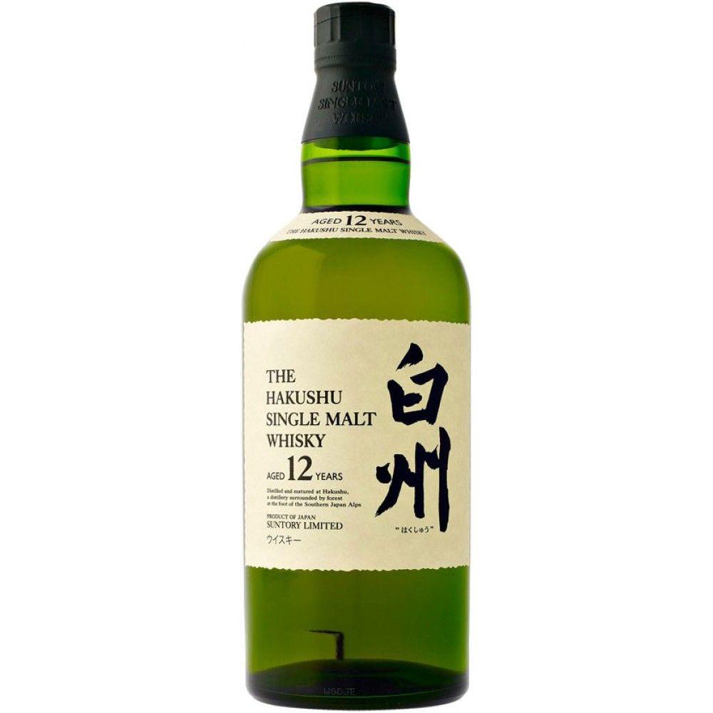 Suntory The Hakushu 12 Year Old Japanese Single Malt Whisky Whisky Packaging Single Malt Whisky Single Malt Whiskey