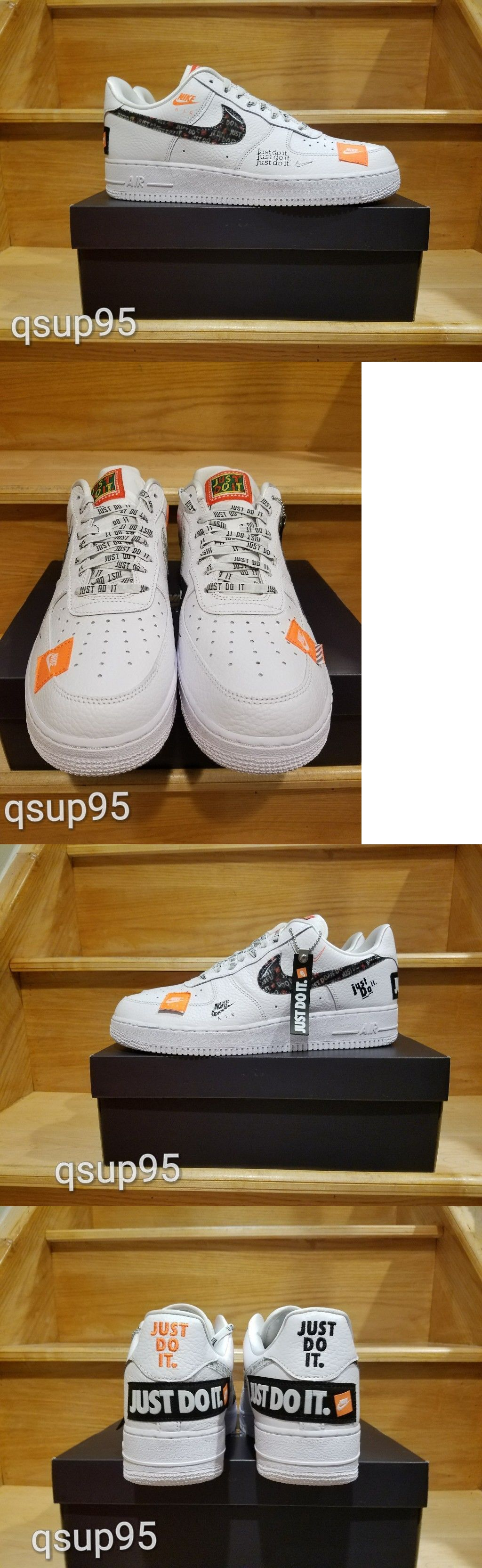 b6e2aa953b11 Athletic 15709  Nike Air Force 1 Low Prm White Black Ar7719 100 Men Gs Just
