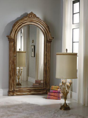 Melange Vera Floor Mirror Hidden Jewelry Storage Favorite