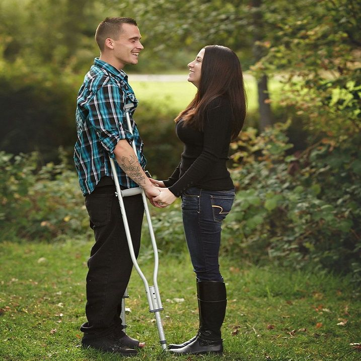 Amputee on crutches 369154500702158541 -  Life can only be understood backwards; but it must be lived forwards. Dwell on the beauty of life and keep moving. . #Crutches #Inspiration #Betterlife #Goodlife  Source by millennialmedical