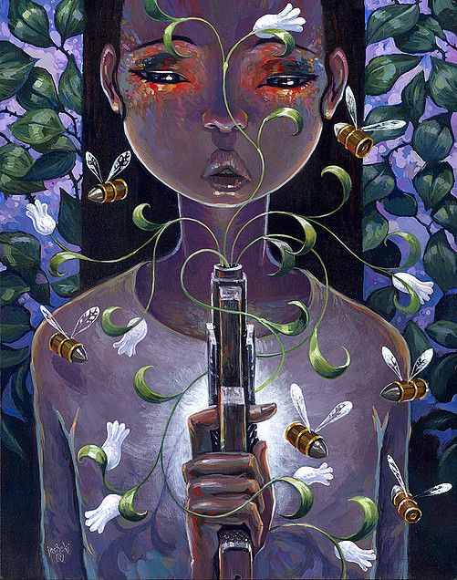 Pistol and Stamen by AARON JASINSKI