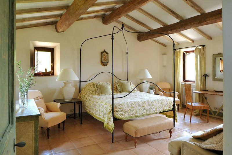 Modern Rustic Bedroom Ideas 17th century restored farmhouse in italy | european style