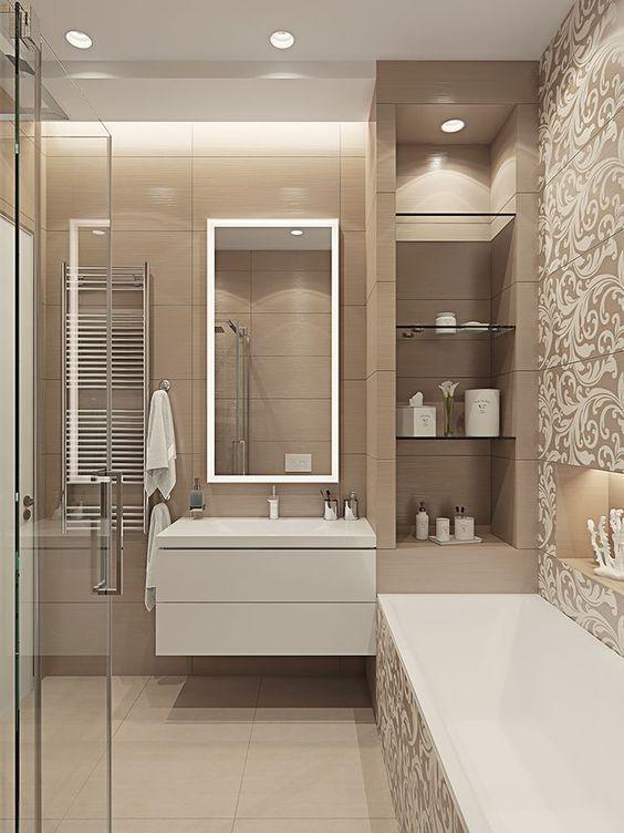 25 erstaunliche U-Bahn-Fliesen Badezimmer Ideen – Home Inspirations – JOLI TA – 2019 – Bathroom Diy