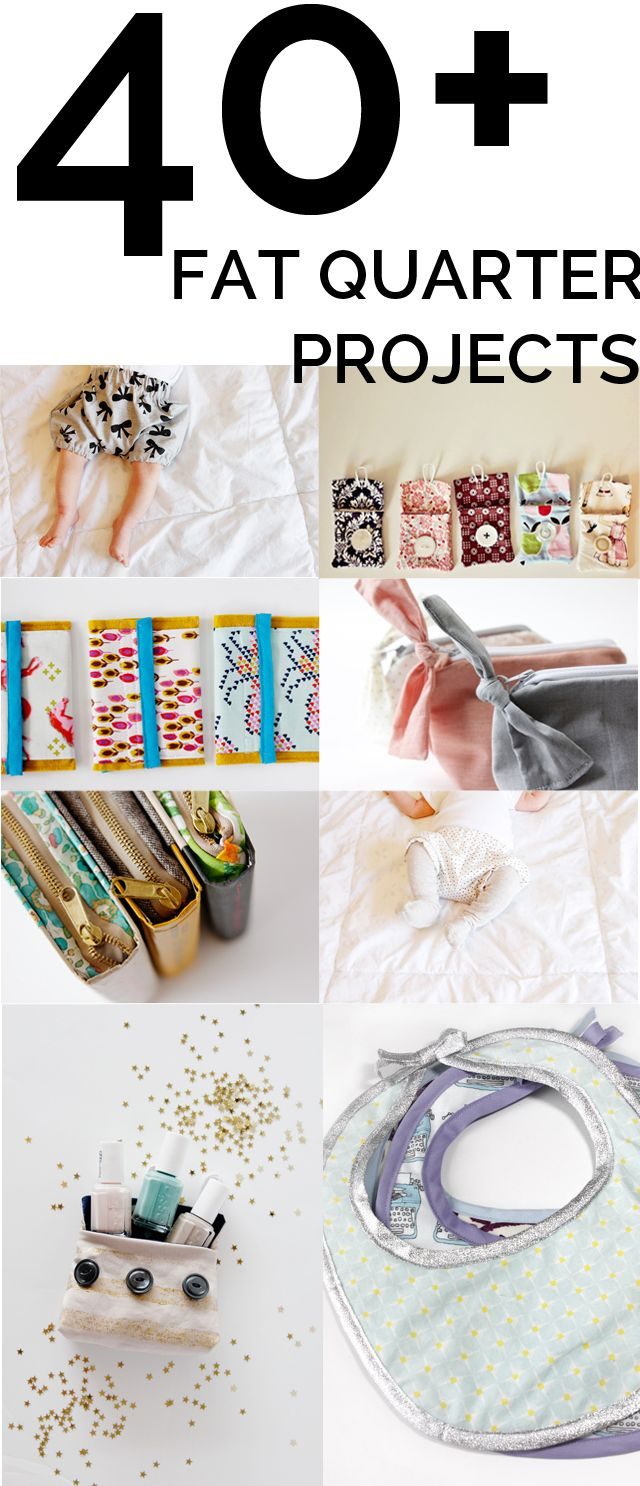 40 fat quarter projects! (see kate sew) | Patchwork | Pinterest ...