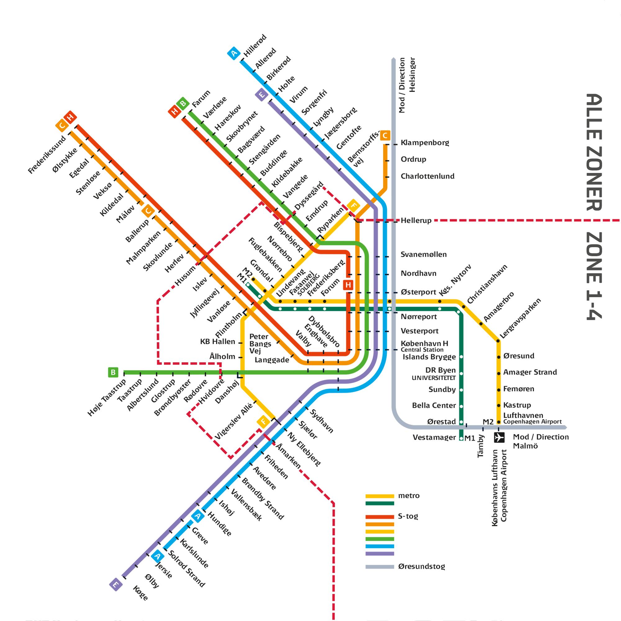 p zoner københavn