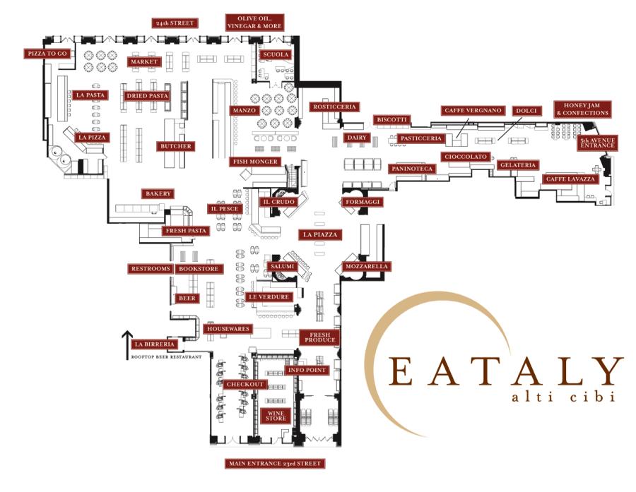 eataly floor plans buscar con google wine culture