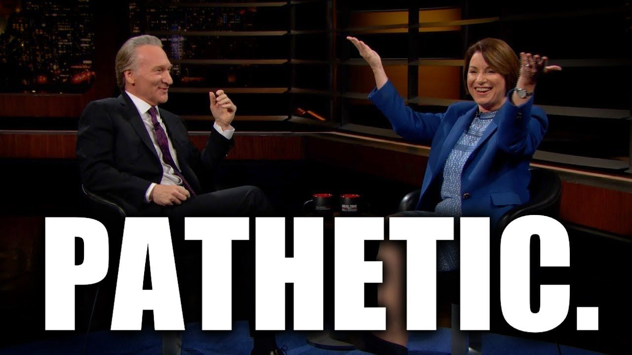 Bill Maher Amy Klobuchar Fear Monger About Sanders Warren