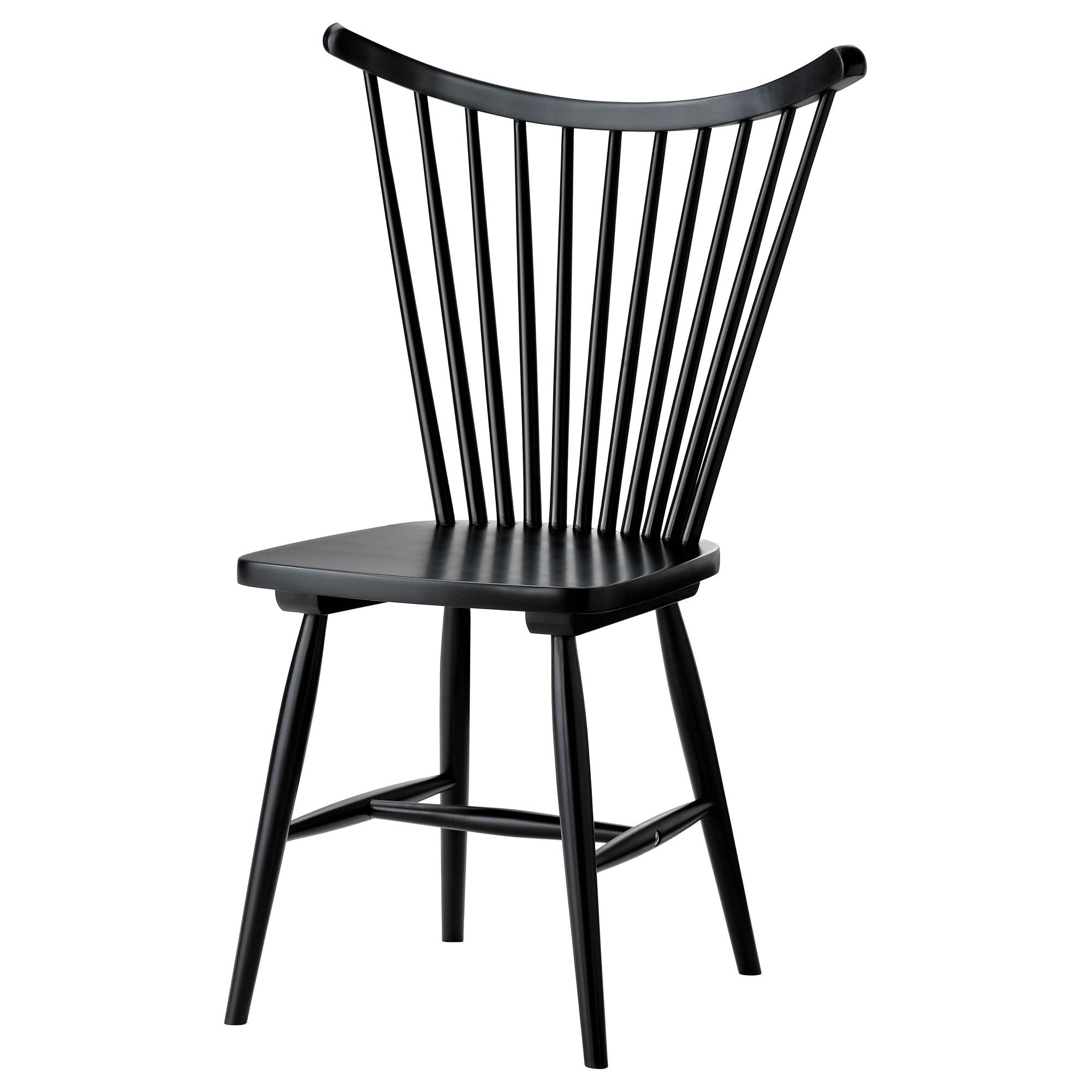 Trendig Chair Black Ikea Wish It Came In Natural Wood To Match My Table  With Chaise Reidar Ikea
