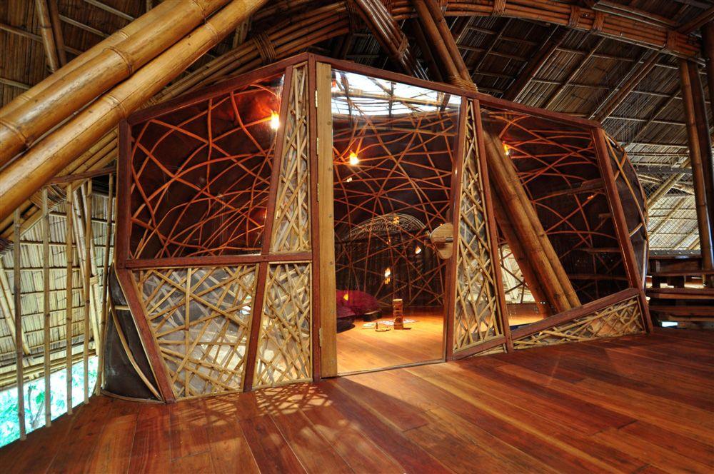 Bamboo house,,, bamboo Pinterest Bambú, Diseño de madera y Cañas
