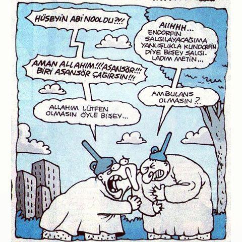 Asansör #yenibok #karikatür #uykusuz #yiğitözgür #deli #deliler #delilikler #delilik #huni #hunililer #ambulans #asansör #endorfin #hüseyin #metin