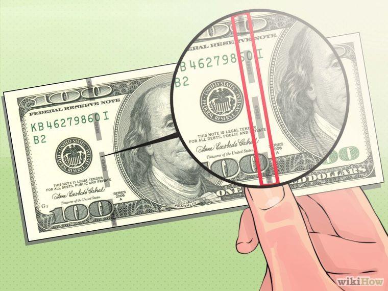 Detect counterfeit us money money business fun facts