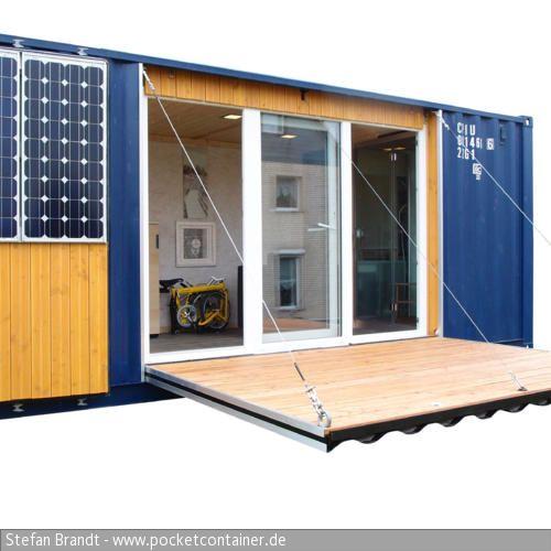 mikrohaus selbst gebaut wohnen im berseecontainer pinterest container h user haus und. Black Bedroom Furniture Sets. Home Design Ideas