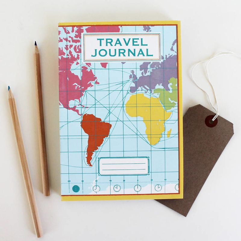 World map travel journal by sukie made using recycled paper world map travel journal by sukie made using recycled paper gumiabroncs Gallery
