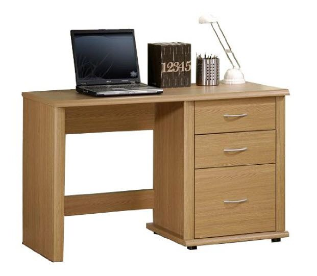 Nice Small Office Desk With Drawers
