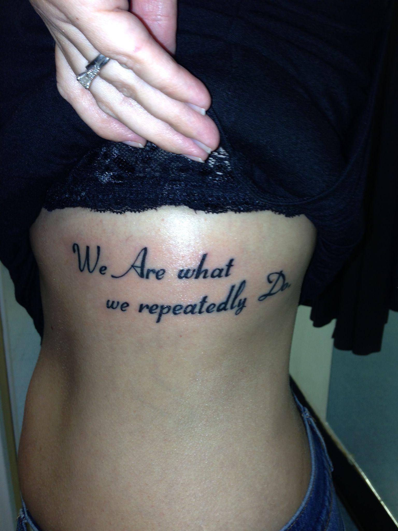 My new Aristotle quote tattoo | Band Geek Stuff | Pinterest - Schöne Tattoo Sprüche