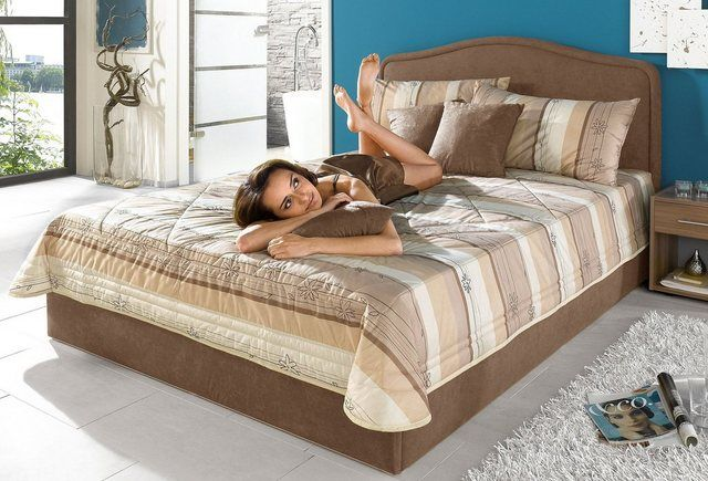 Photo of upholstered bed