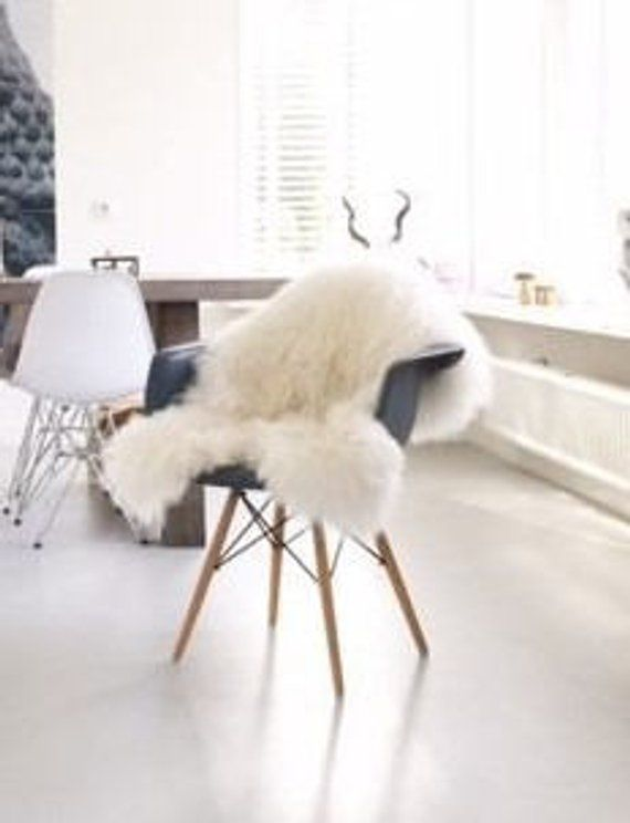 large chair covers adirondack chairs fire pit sheepskin rug fur white cozy beautiful and rugs