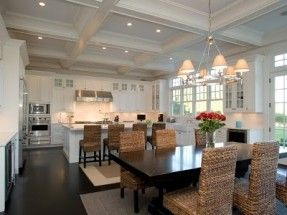 loving the seagrass chairs! dining room/kitchen | For the Home ...