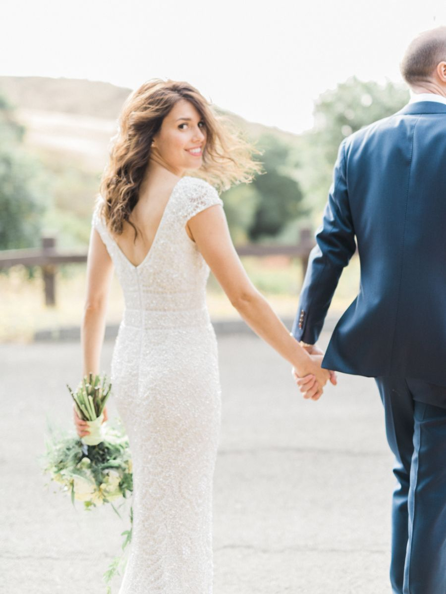 Khloe kardashian wedding dress  Powder Blue Outdoor Garden Wedding  wedding  Pinterest