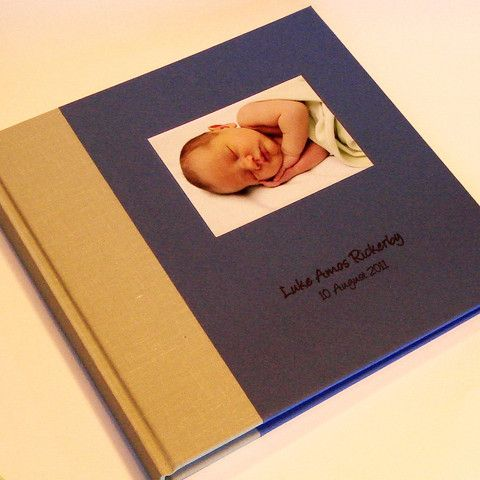 My First Year Baby Scrapbook Album Baby Photo Album Keepsake