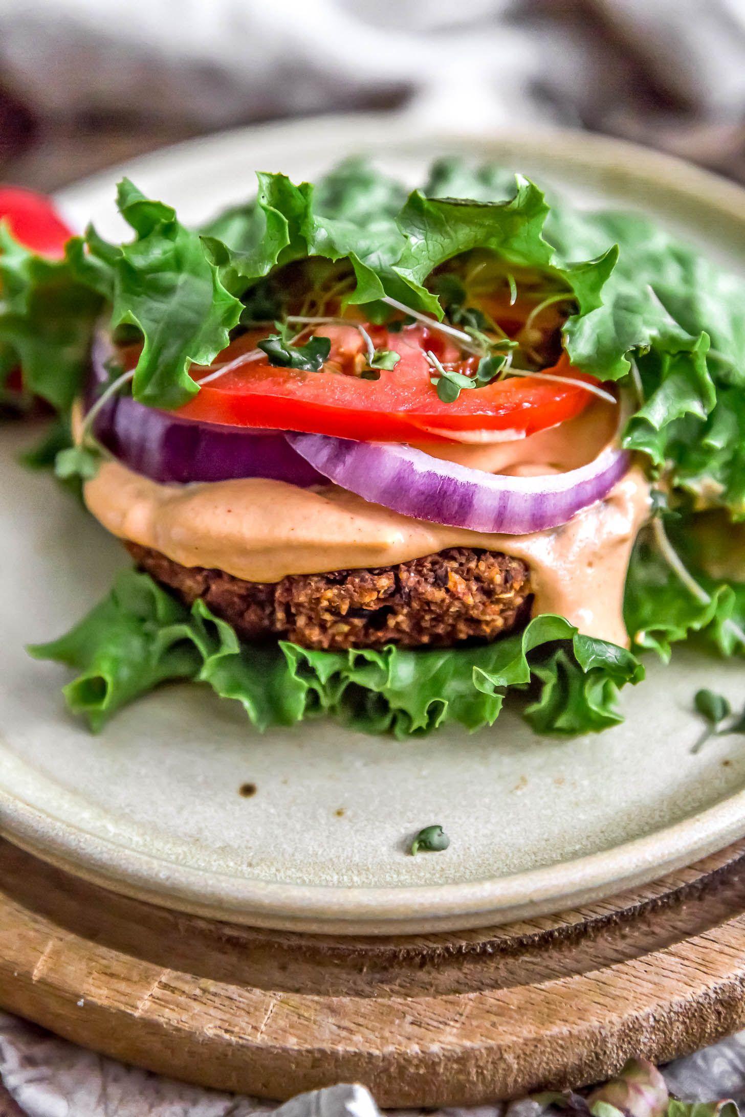 Ultimate Healthy Vegan Black Bean Burger