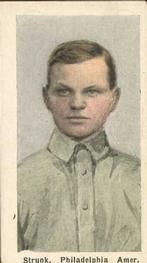 1910-11 Sporting Life M116 #254 Amos Strunk Front