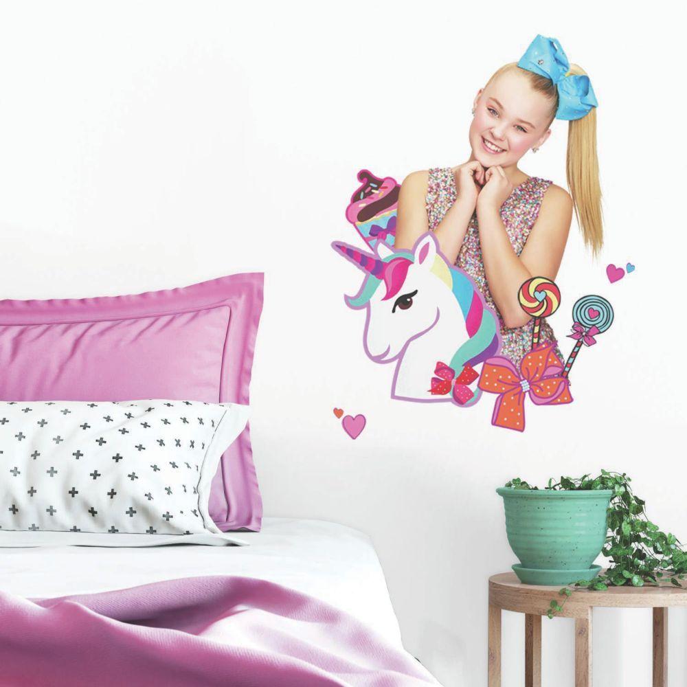 Jojo Siwa Unicorn Dream Peel Stick Giant Decal Oriental Trading Jojo Siwa Vinyl Wall Decals Wall Decals
