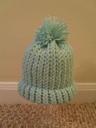 Loom Knit Hat For Beginners Loom Size Make Brim Change Color