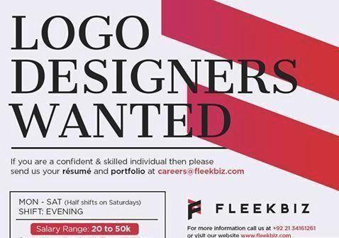 Logo Designers Wanted In Fleekbiz Karachi Jobs In Pakistan - dredge operator sample resume