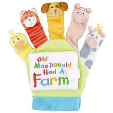 Little Scholastic Old Macdonald Touch And Play Hand Puppet Board Book Scholastic Toys R Us Hand Puppets Glove Puppets Puppets For Kids