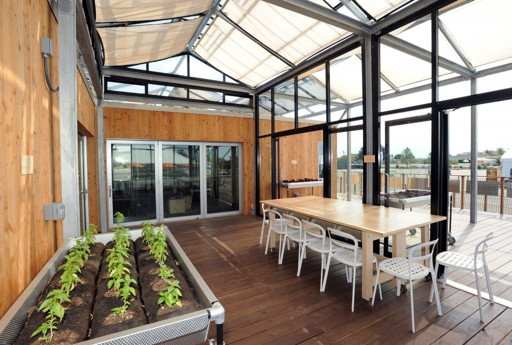 A whole house greenhouse and other student eco-inventions