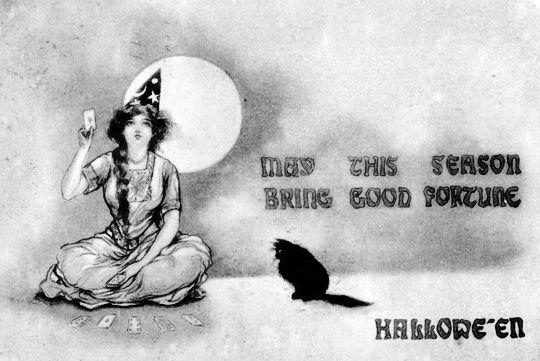 Halloween postcard c. 1910s