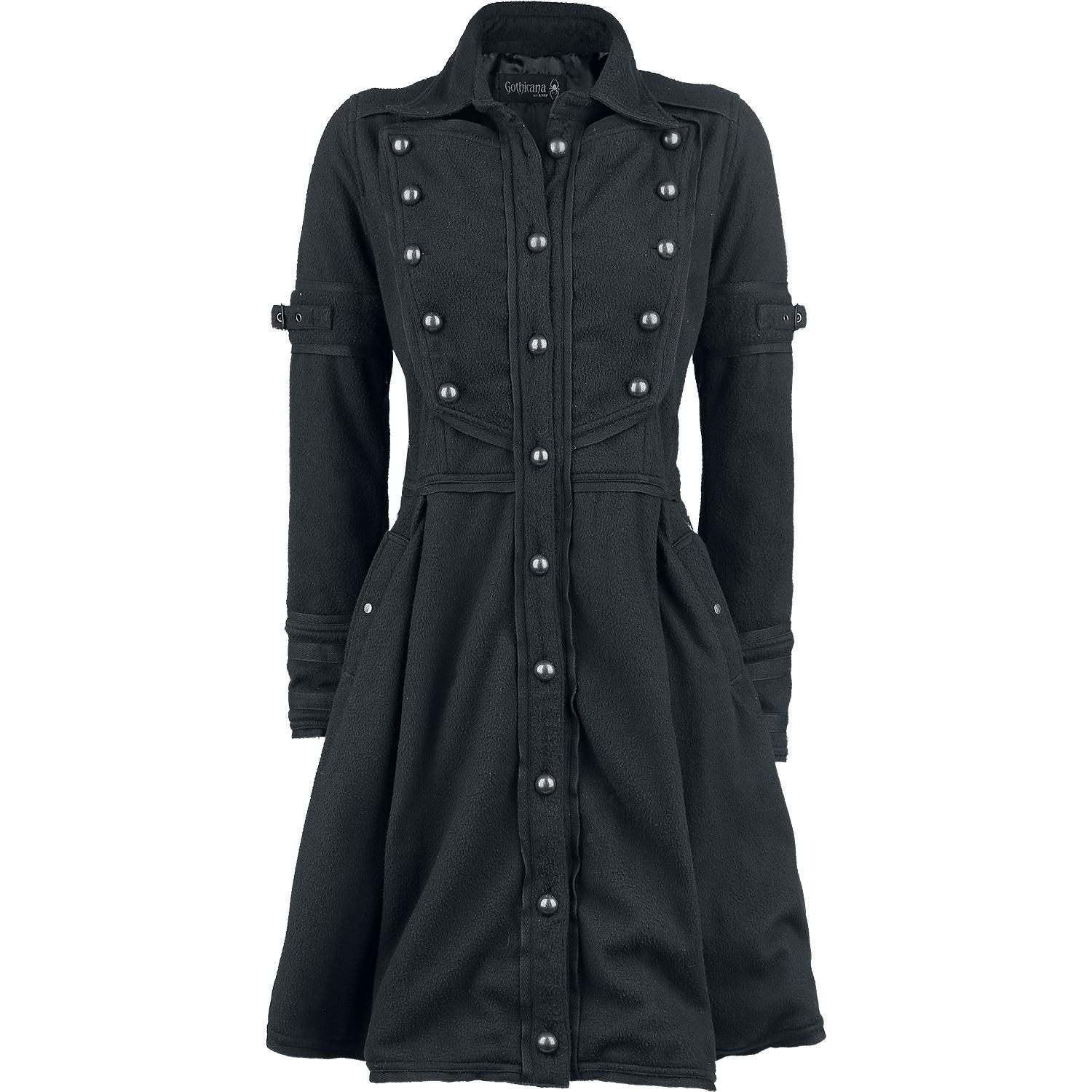 coat Coat Gothicana by Girls Buckle by EMP Article 0nPXN8wkZO