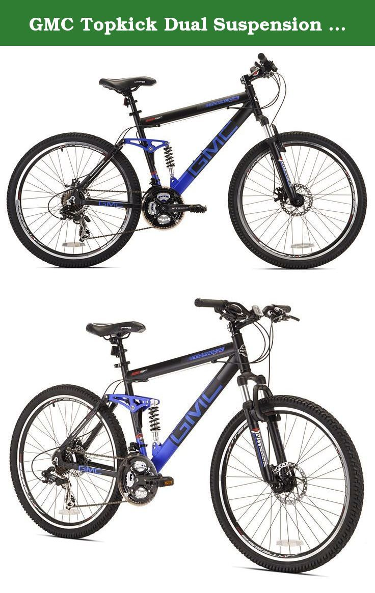 Gmc Topkick Dual Suspension Mountain Bike 26 Inch The Gmc