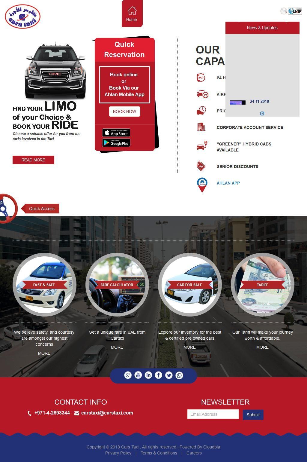 Car Taxi Service Company 10 7a Street G Floor Al Khabaisi 128