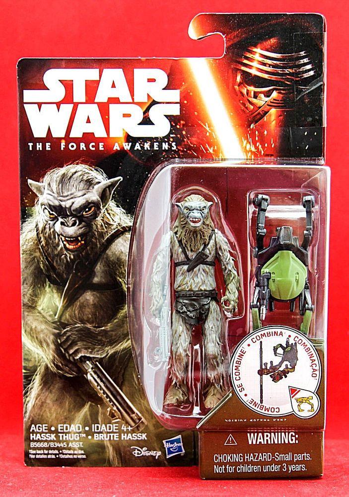 "Hassk Thug Star Wars the Force Awakens 3.75"" Hasbro Action Figure New #Hasbro"