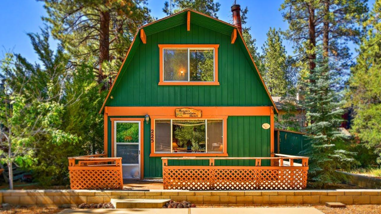 Charming Mountain Cabin Tiny House Furnished Per Inventory