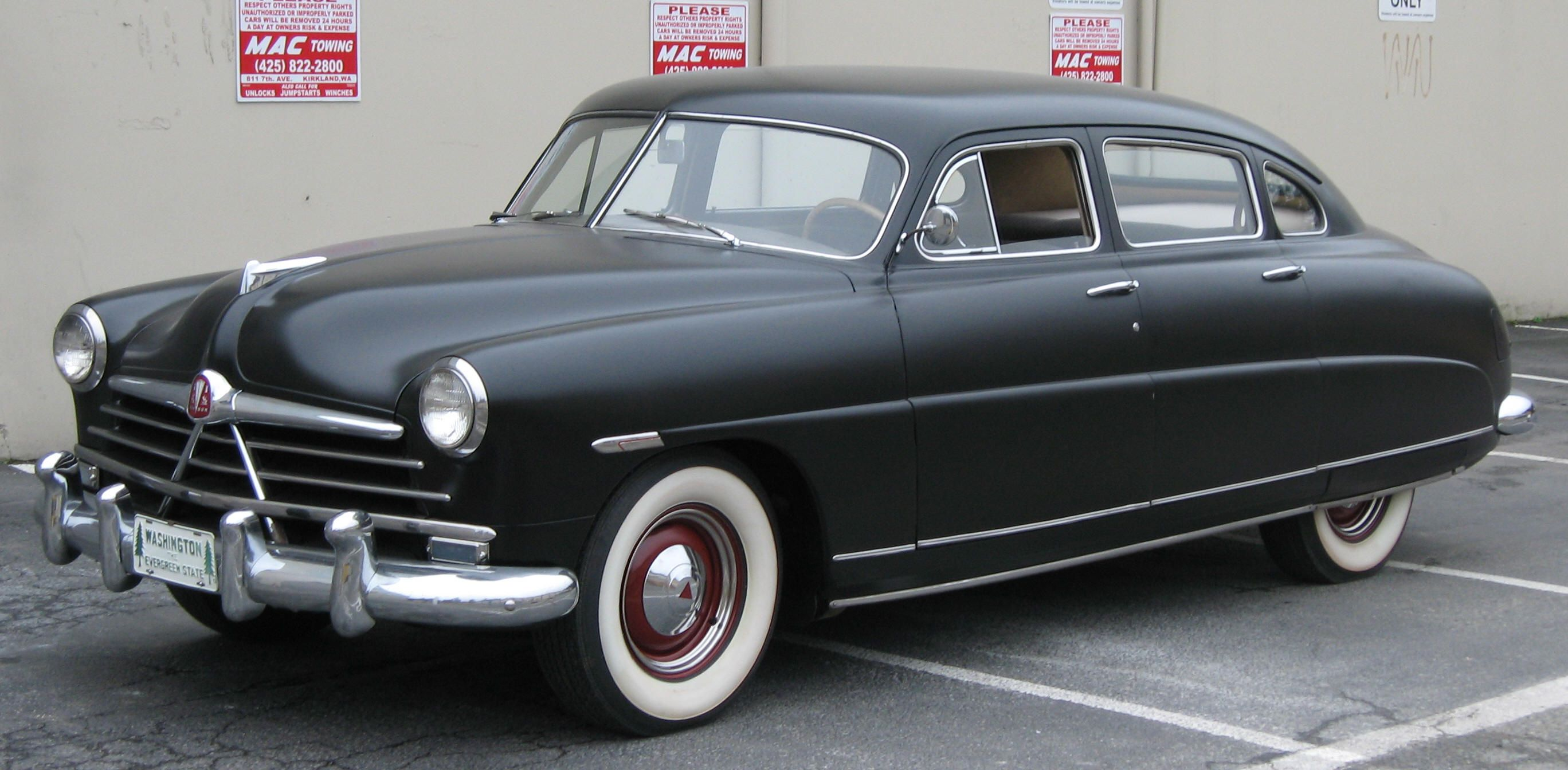 I Love The 1949 Hudson Ahead Of Its Time I Owned One 4inch