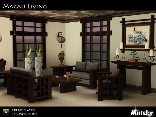 mid century modern dining and style set sims 3 download. macau asian living by mutske - sims 3 downloads cc caboodle mid century modern dining and style set download