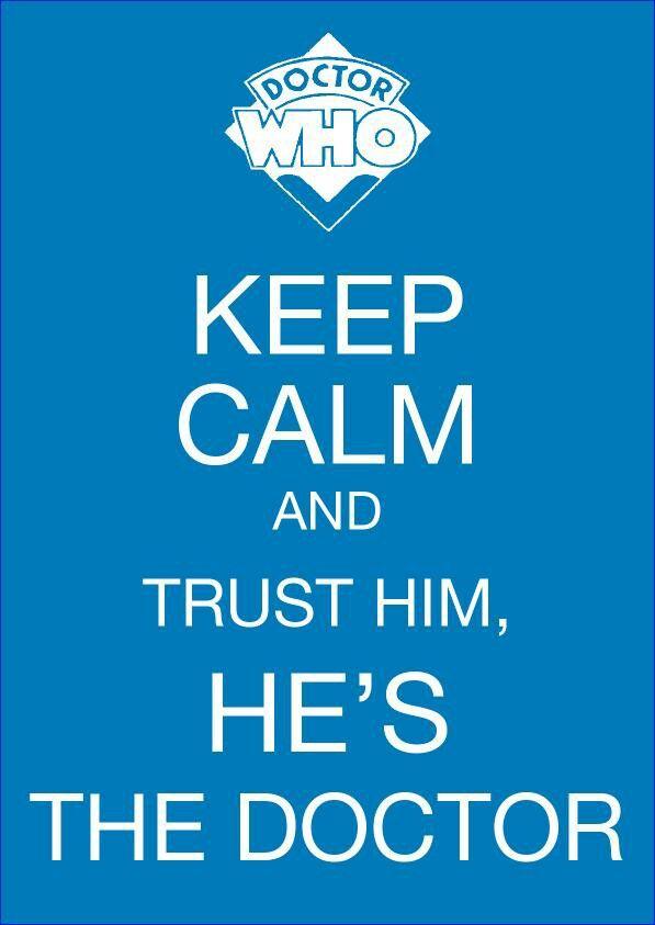 I trust him