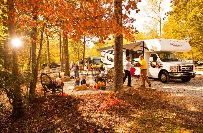 Expert Tips for RVing in the Fall | KOA Camping Blog ...