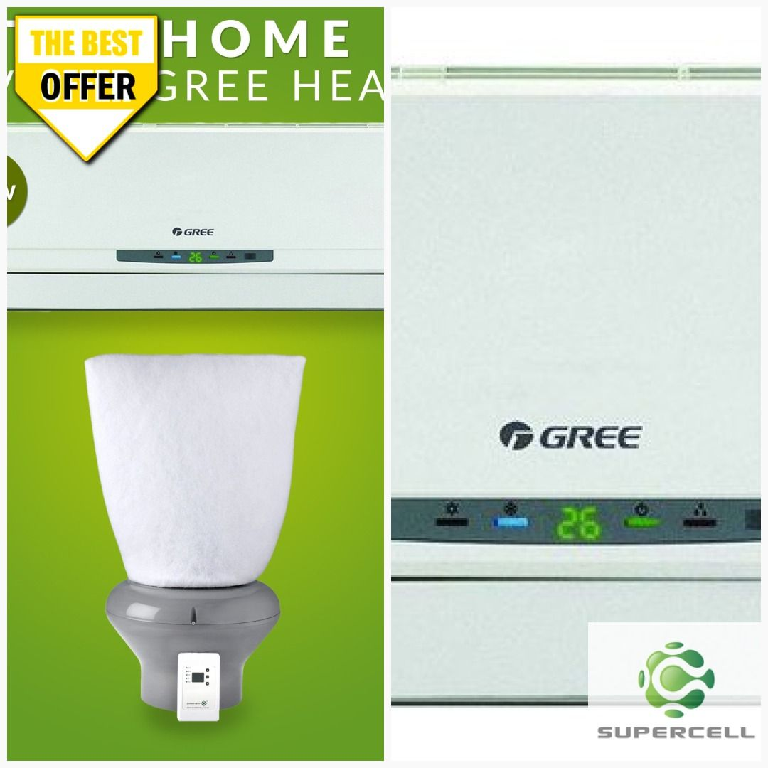 Supervent Ventilation System 6 2kw Gree Heat Pump Combo In 2020 Diy Air Conditioner Ventilation System Heat Pump