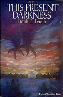 This Present Darkness By Frank E Peretti Paperback 4 95 Or Less Up To 50 Off With Additional Purchases Frank Peretti Books Frank Peretti Fiction Books