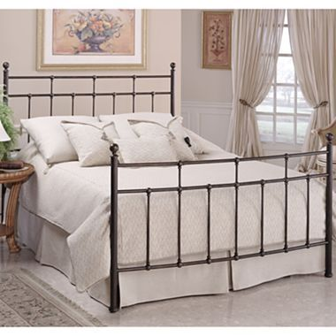 Jacob Metal Bed Or Headboard Full Bedding Sets Hillsdale Furniture Metal Beds