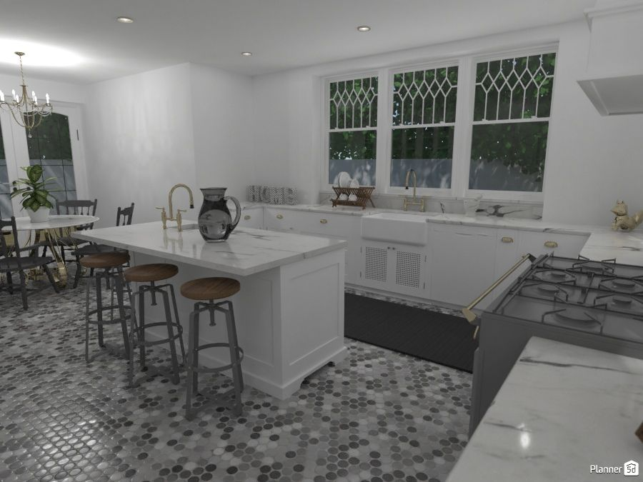 White Kitchen Interior Planner 5d White Kitchen Interior